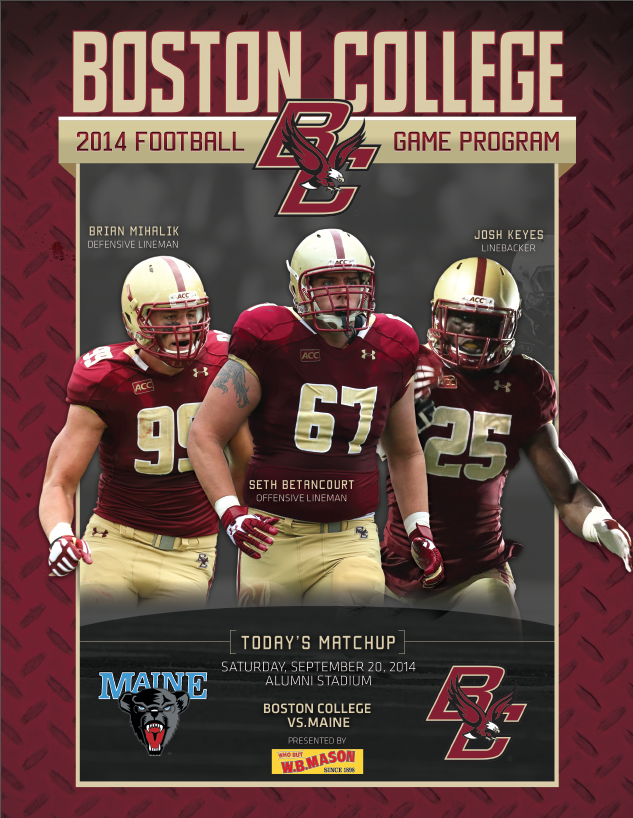 Take a look at the official 2014 Boston College Football