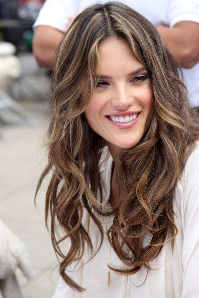 30+ Caramel Alessandra Ambrosio Hair PNG