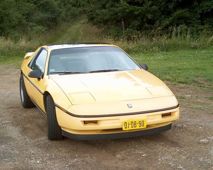 Pontiac Fiero Formula 1988 70s & 80s Pinterest