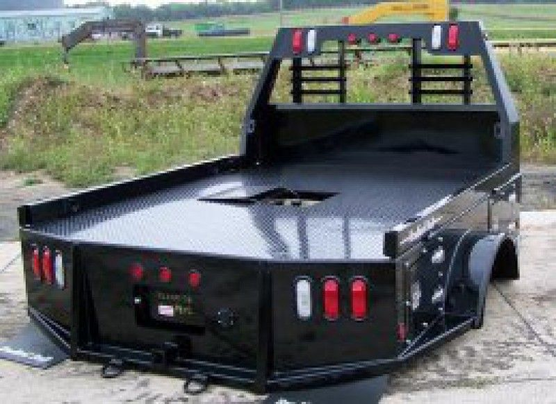 Utility Truck Bumpers : Bradford built box utility beds standard features