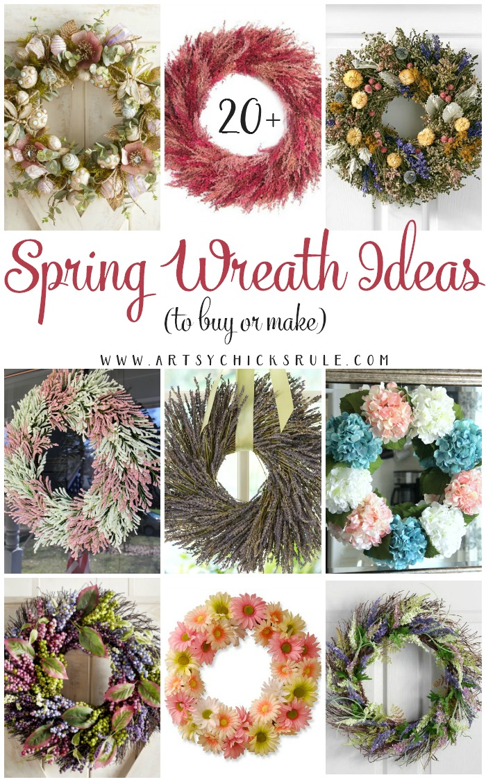 Photo of Spring Wreath Ideas (to buy or make)