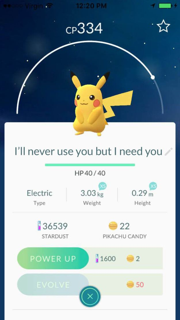Here's What Pokémon In Pokémon Go Should Be Called
