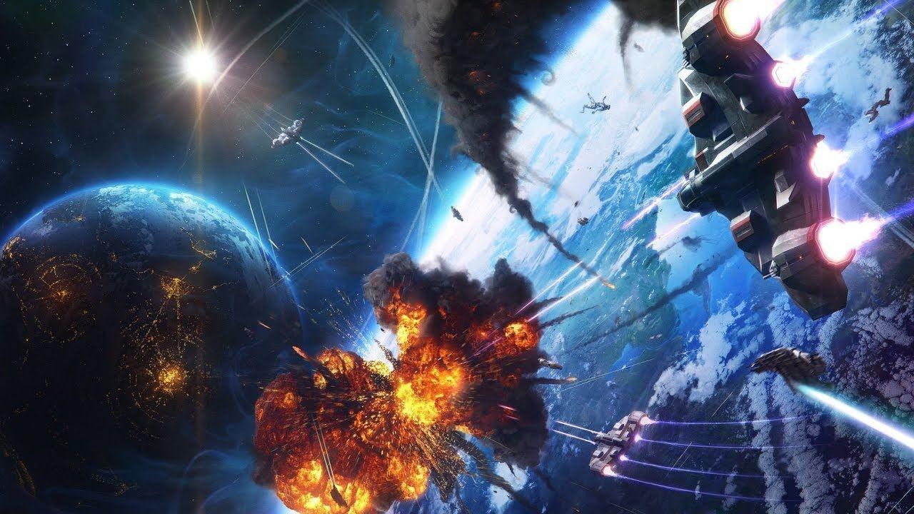 Space War Massive Space Battle Epic Fight Scenes Space Battles Space Fantasy Fantasy Battle