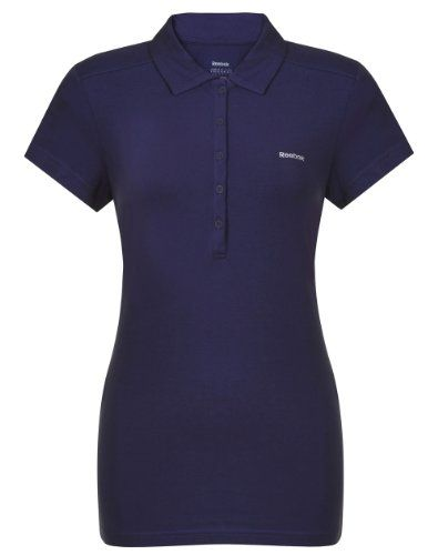reebok polo shirts womens purple