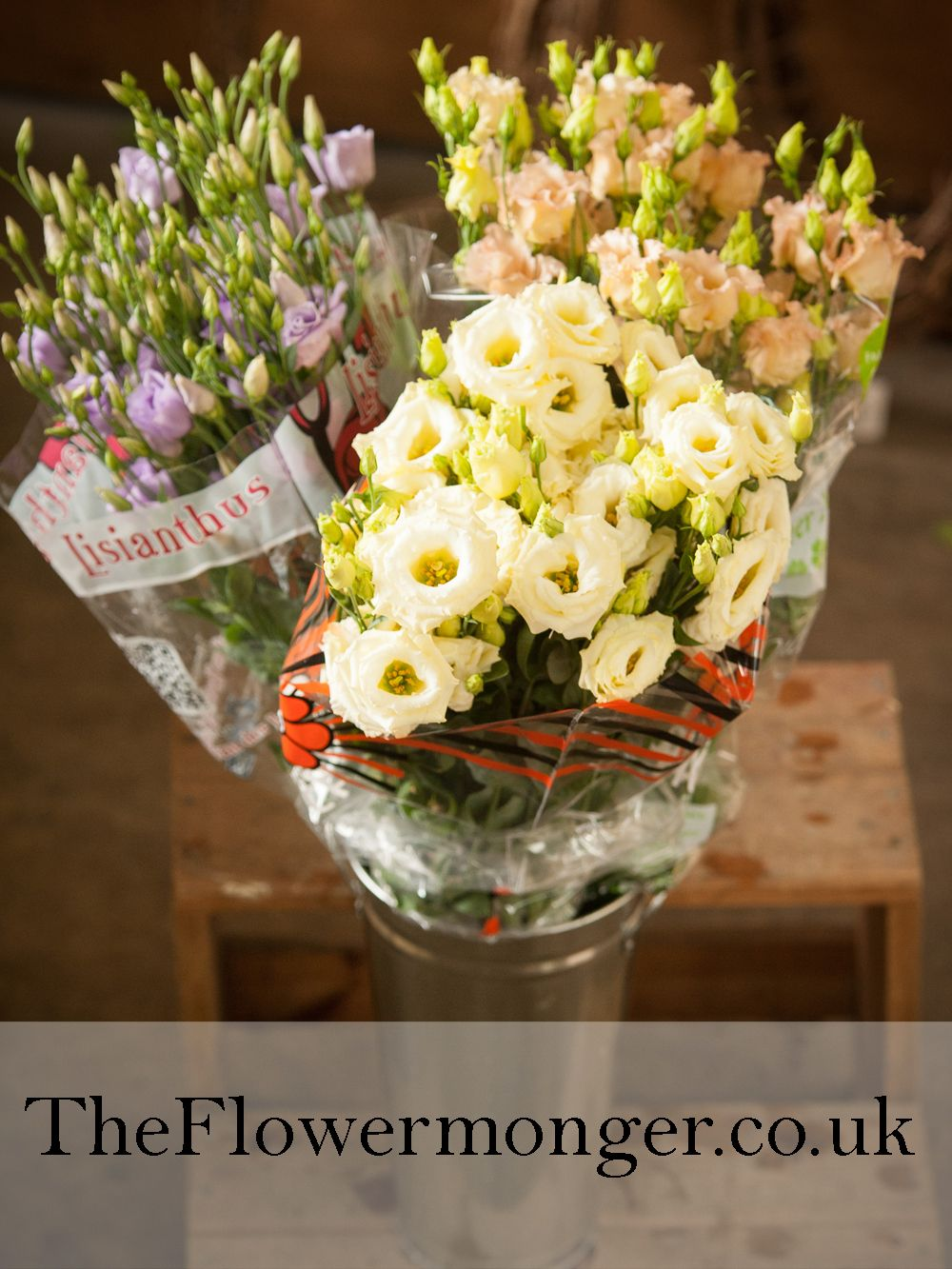 Lisianthus Come In A Wide Range Of Colours Available In Bunches Of