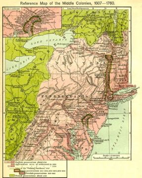 Maps USA S Maps US Vintage Maps Pinterest Genealogy - Map of us 1700