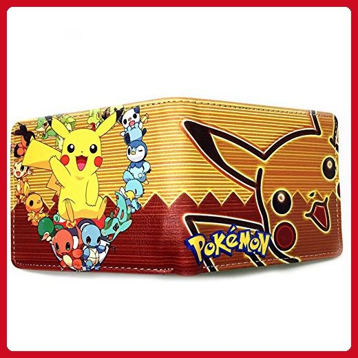 Athena Cartoon Pokemon Pikachu Heart Womens Mens Wallet Gift Box Included - Wallets (*Amazon Partner-Link)