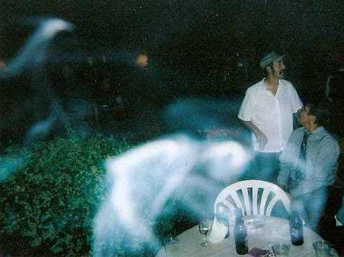 Above: Swirling ectoplasm mist has many vapor trails. Doesn't it ...