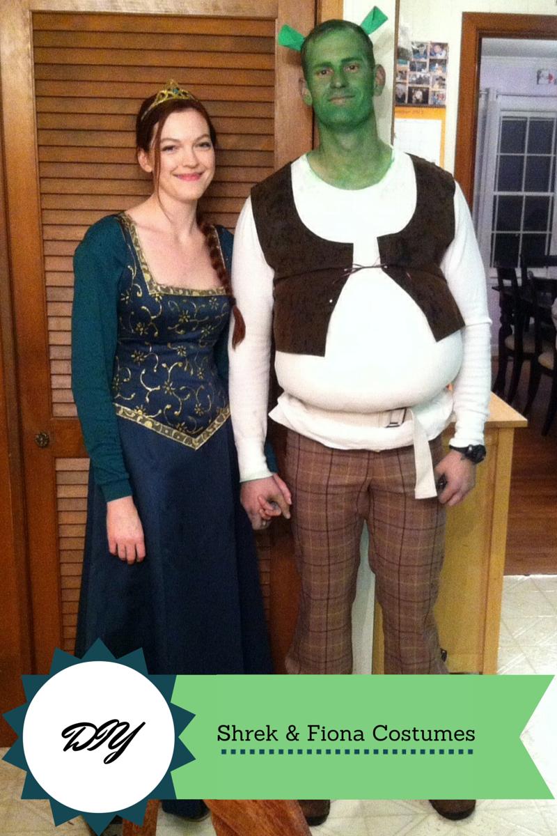 DIY Princess Fiona Costume/Medieval Dress (and Shrek ...