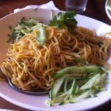 GARLIC NOODLES  P.F. Chang's China Bistro Garlic Noodles   3 teaspoons minced garlic  3 teaspoons granulated sugar  2 tablespoons white v...