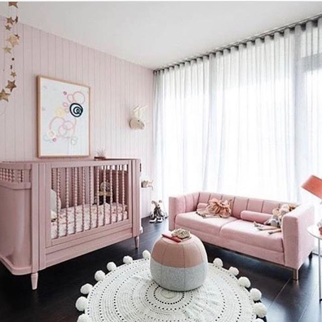 I Like The Couch And Big Windows But Too Much Pink
