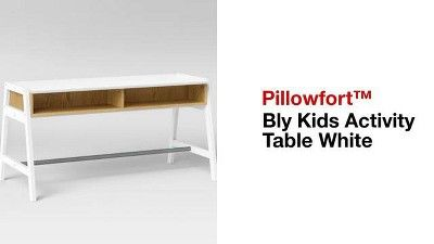 Bly Kids' Activity Table White - Pillowfort™