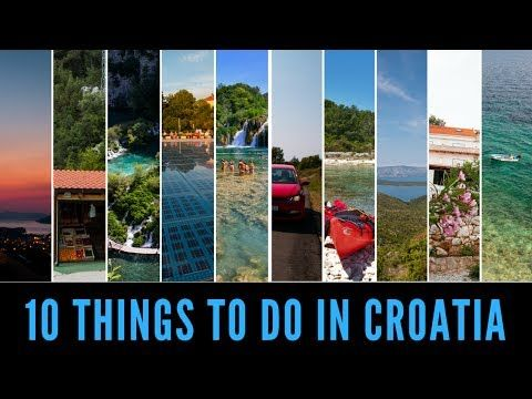 Fall in love with Croatia with these ten things to do in Croatia. It's a truly beautiful country, don't miss a thing with this Croatia Travel Guide.
