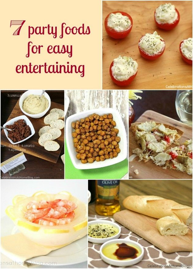 7 ideas for easy party food easy party food finger foods and food