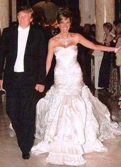 Melania And Donald Trump Wedding Gown 2019 Wedding Inspiration