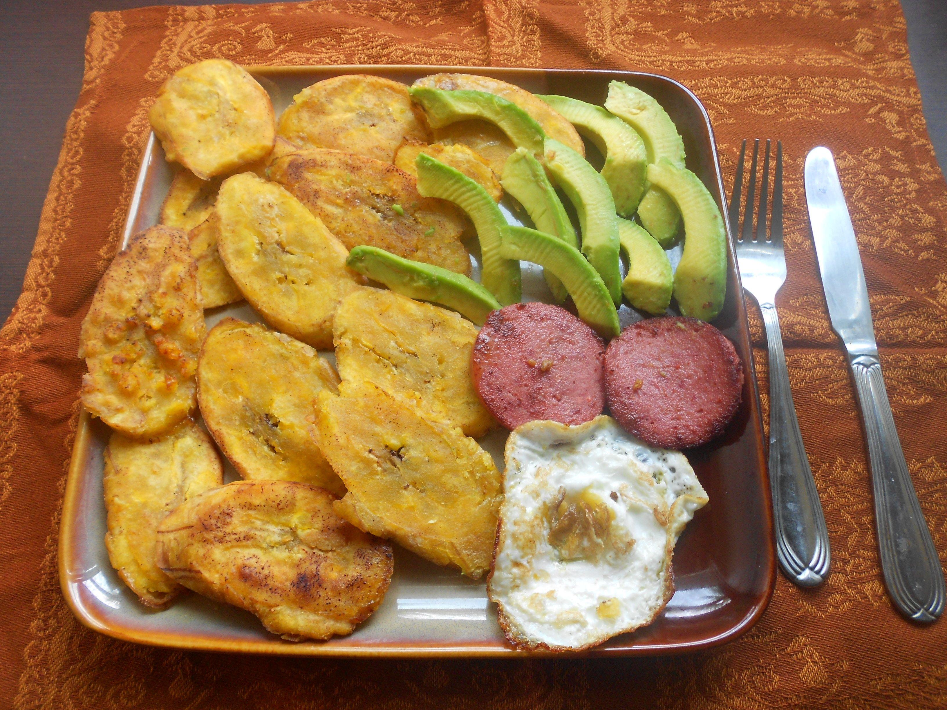 Desayuno AL ESTILO DOMINICANO Food, Breakfast recipes