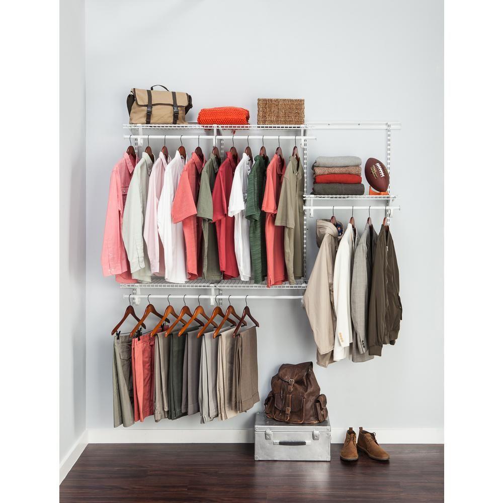 Closetmaid Shelftrack 4 Ft To 6 Closet Organizer Kit