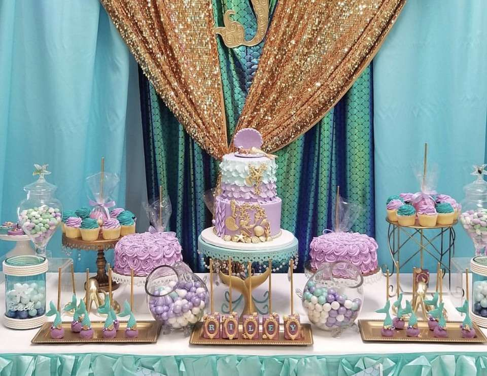 """Under the Sea / Baby Shower """"Princess Riley's Under the"""