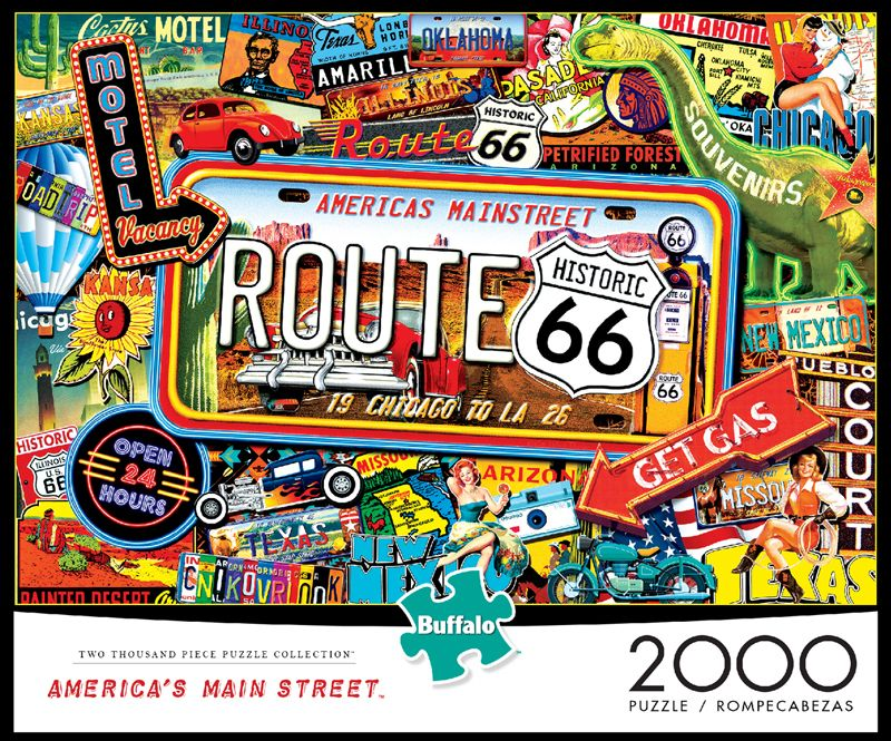 2000 piece american jigsaw puzzles