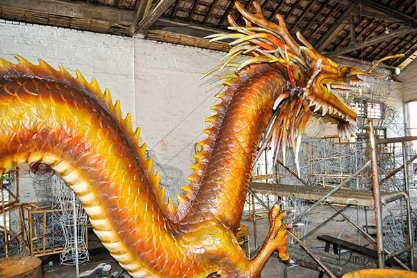 China, an ancient country with a history of 5,000 years of civilization Dinosaur News_Shu Xi Ying Group animatronic dinosaur statue maker #historyofdinosaurs