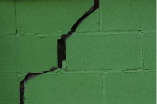How To Patch A Hole In A Cinder Block Wall Concrete Block Walls Cinder Block Walls Basement Walls