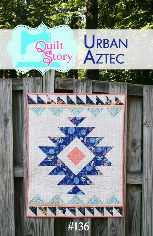 (7) Name: 'Quilting : Modern Aztec quilt pattern