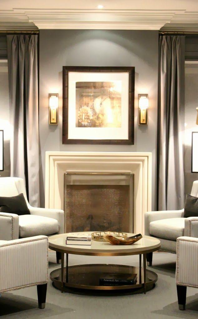 Conversation seating modern chid living room Princess Margaret