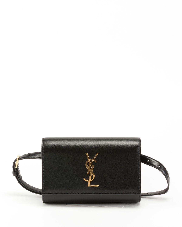 1847420327 Saint Laurent Kate Monogram Leather Belt Bag in 2019   StyleQ ...