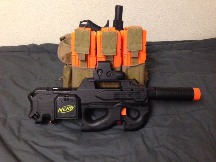 Nerf gun recon mod 3.0 by *Tatonkus | Awesome Nerf Mods | Pinterest | Guns,  Nerf recon and Weapons