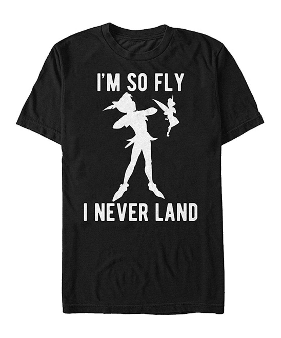 Take a look at this Peter Pan 'I'm So Fly I Never Land' Tee - Men & Big today!