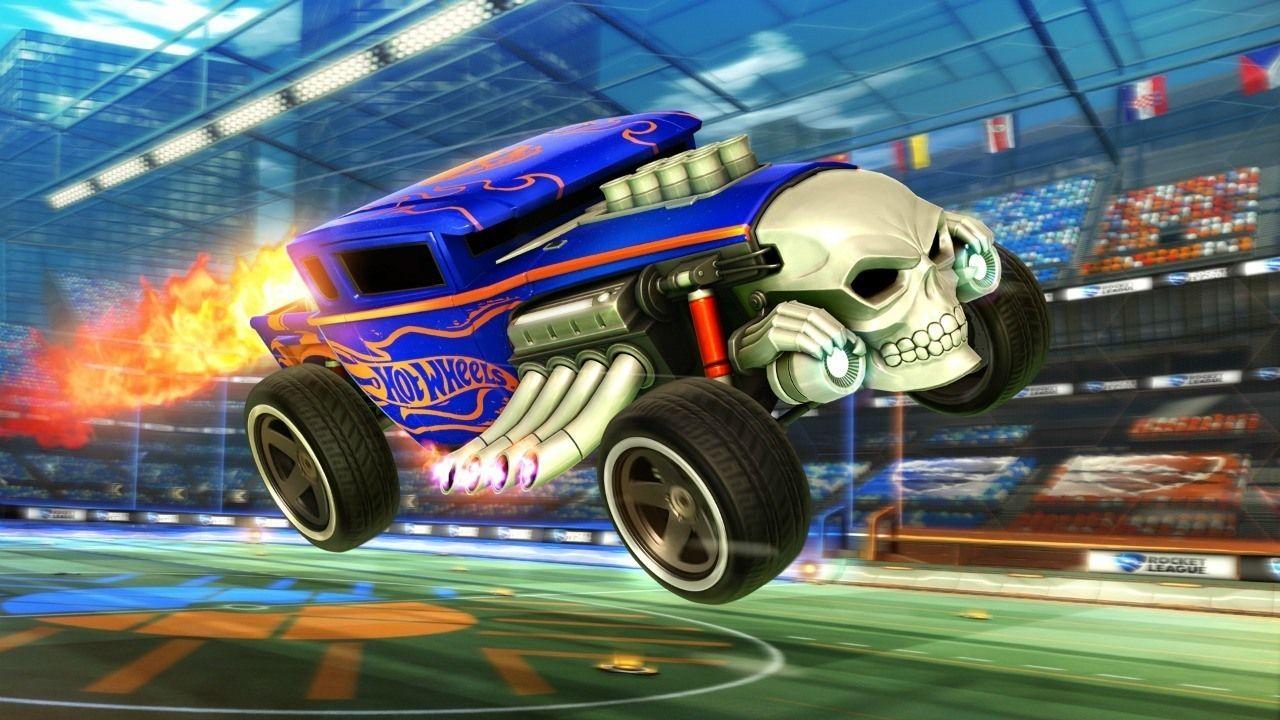 Rocket League Announces Hot Wheels DLC Hot wheels, Hot