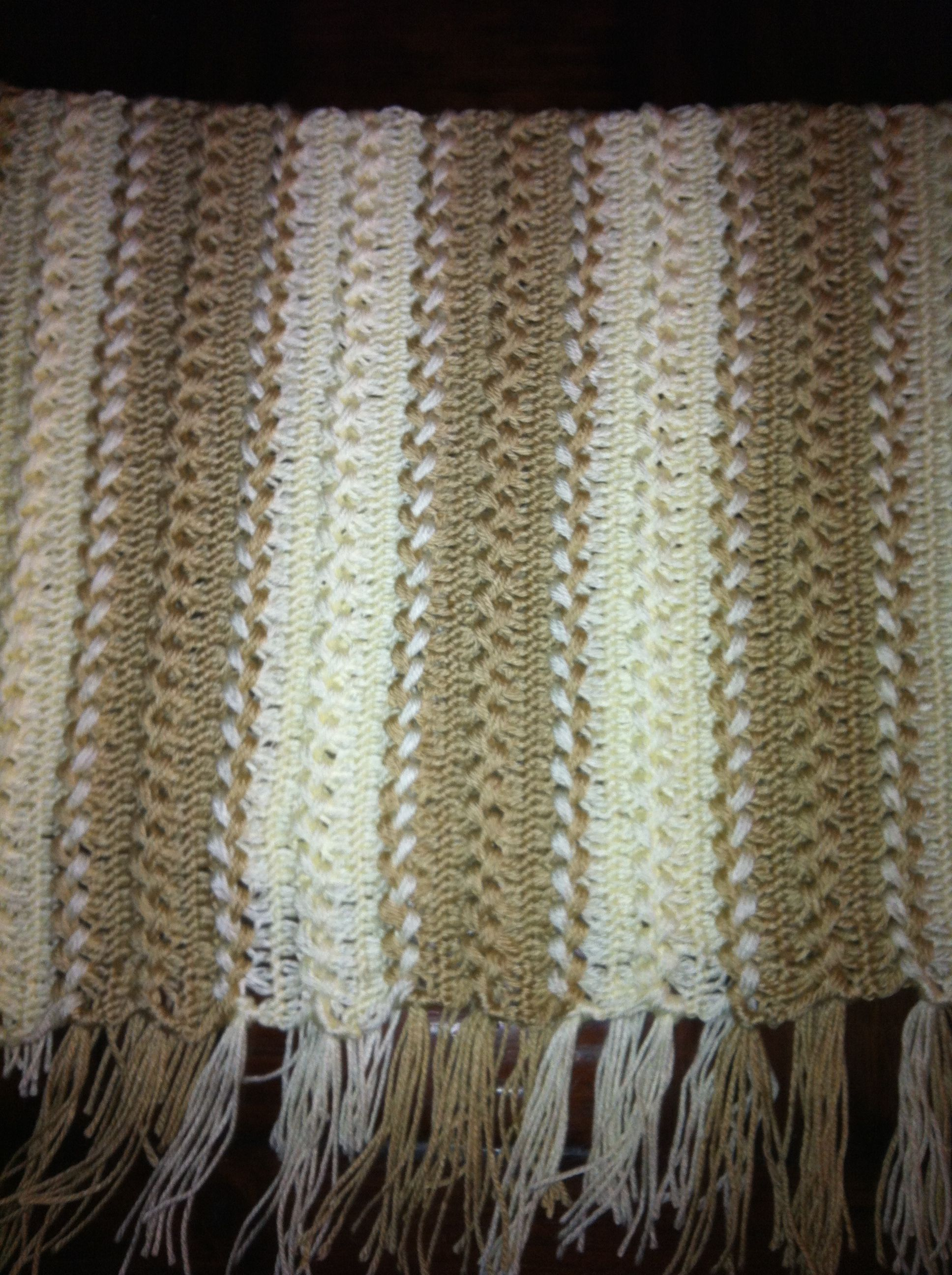Hair pin lace afghan | Craft | Pinterest | Ganchillo