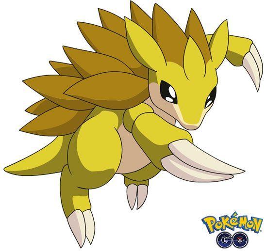 Sandslash de Pokémon Go (1)
