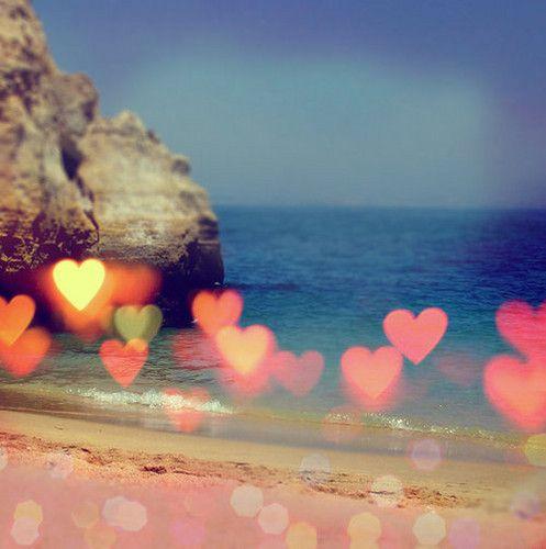 beach in love.- our first date was on a beach in Santa Cruz