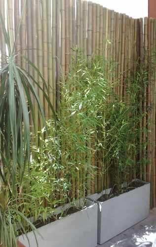 Deck madera plantas jard n r stico buscar con google - Jardines decorados con madera ...