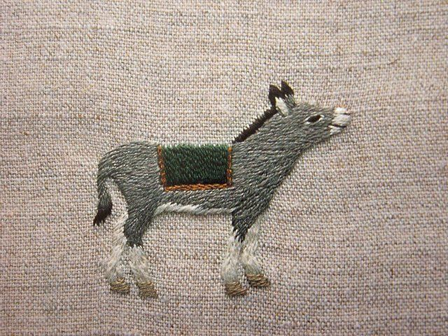 Fluffbuff: Small Embroidery