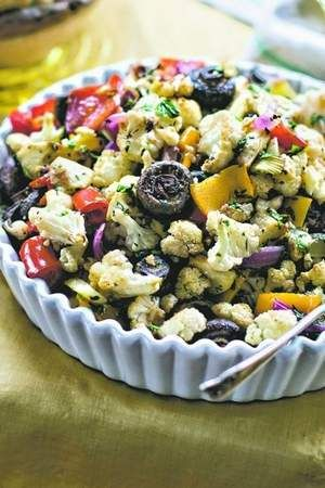 Apple roasted vegetables