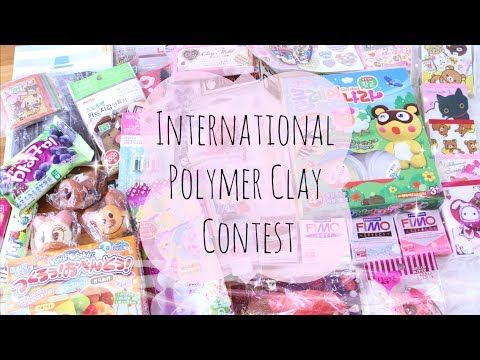 International Polymer Clay Contest // OPEN