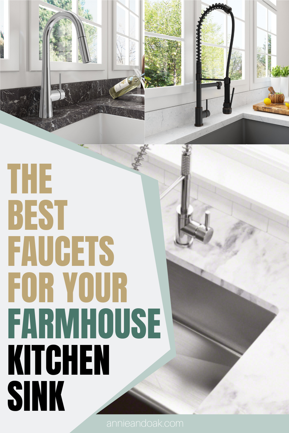 The Best Faucets For Your Farmhouse Kitchen Sink Best Faucet Farmhouse Style Kitchen Farmhouse Sink Kitchen