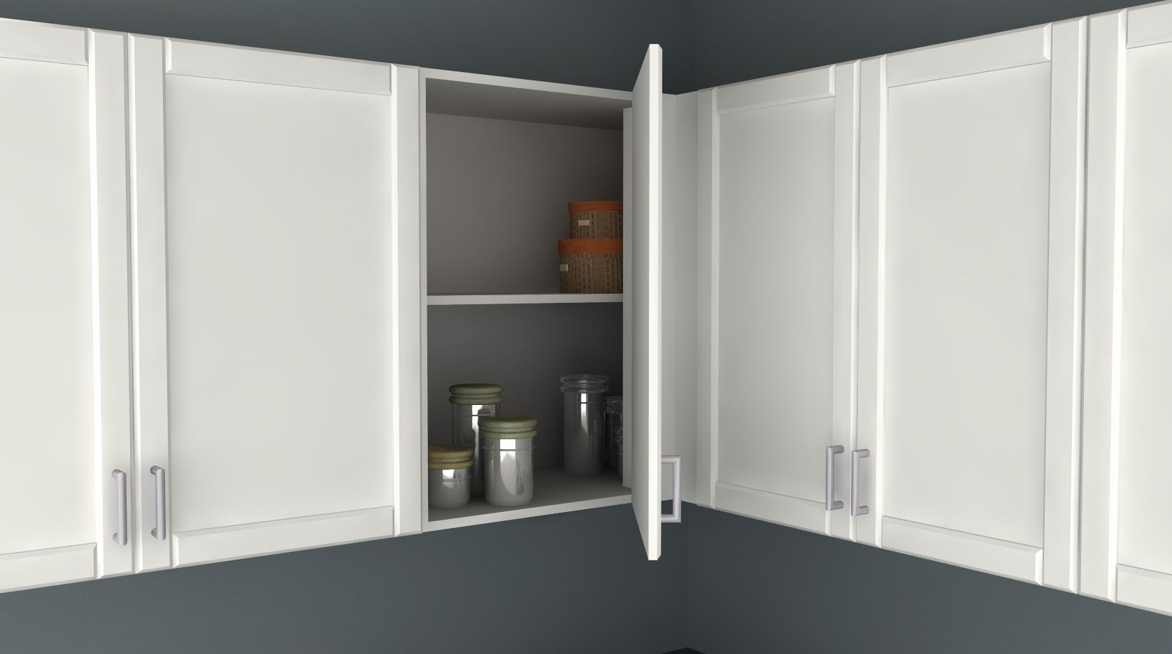 ikea kitchen hack a blind corner wall cabinet perfect for on wall cabinets id=27997