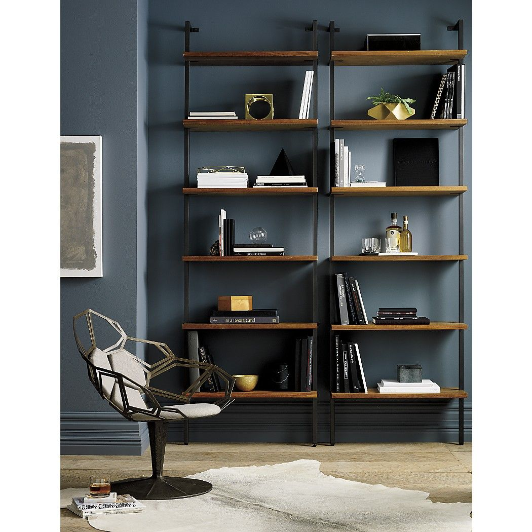 Helix Large Wall Mounted Bookcase
