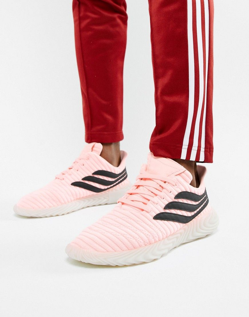 detailed look 71557 ff60a ADIDAS ORIGINALS SOBAKOV SNEAKERS IN PINK BB7619 - PINK. adidasoriginals  shoes
