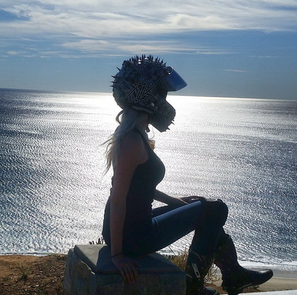 Bikerdeee by the beach  Photo by bikerdeee