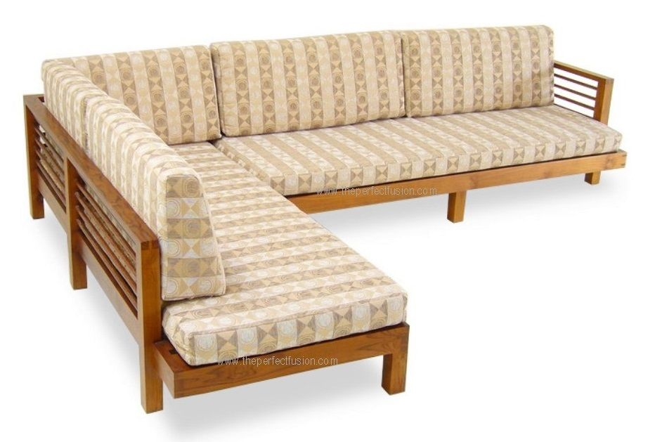 Image Result For L Shaped Wooden Sofa Chair Sofa Bed Wooden Sofa Furniture