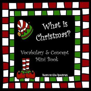 Christmas Social Story Social Skills Autism Social Stories Autism