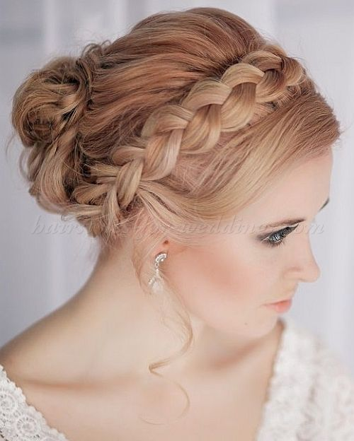 Wedding Hairstyle Crown: Braided Wedding Hairstyles, Bridal Hairstyles With Plaits