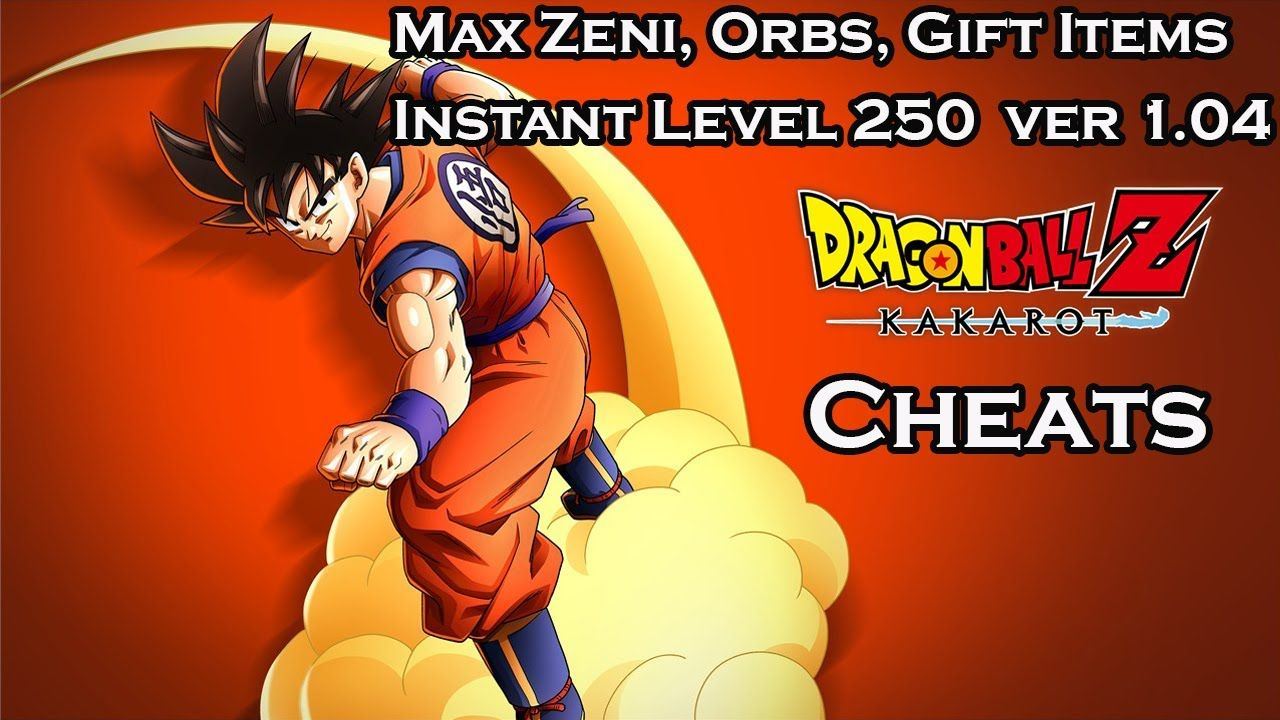 Dragon Ball Z Kakarot Max Zeni Orbs Gift Items Instant Level 250 C Dragon Ball Z Kakarot Dragon Ball