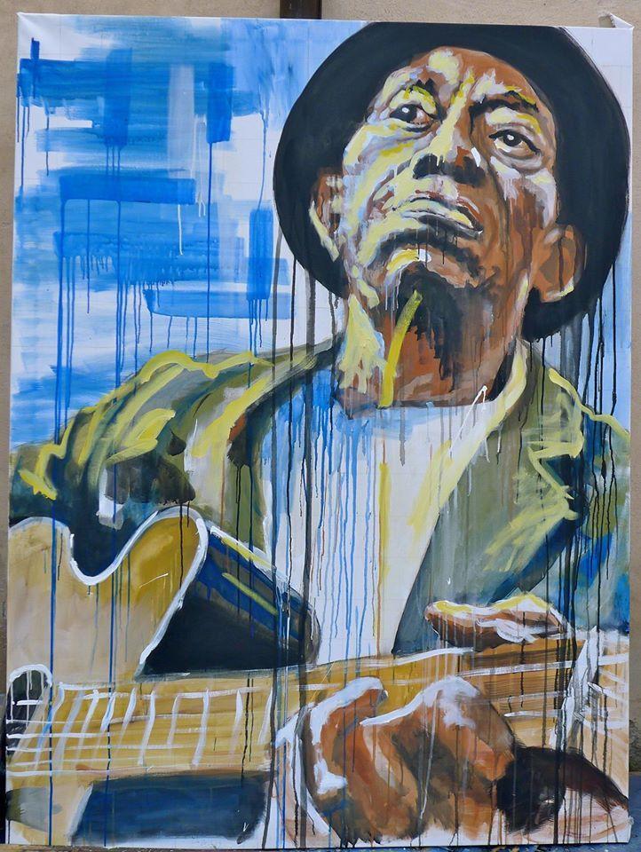 MISSISSIPI John Hurt - Live paint SARZANA #arte #quadri #art #paintings #francori #modena #musica #music  Visita il mio sito: www.francori.it