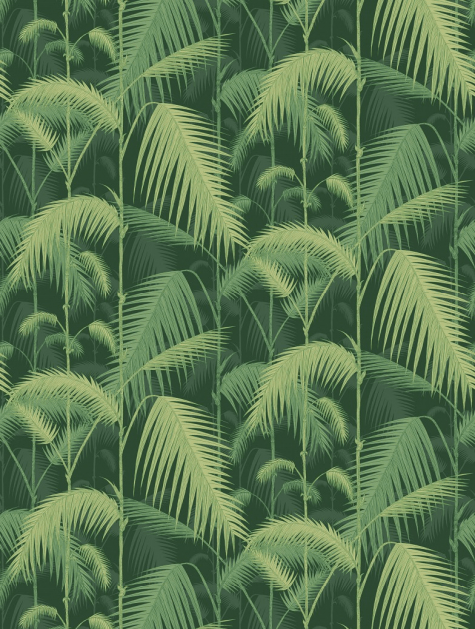 Palm Jungle Jungle wallpaper, Cole and son, Feature