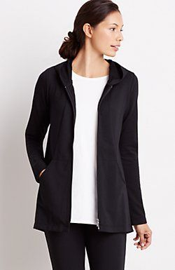 Pure Jill seamed hoodie